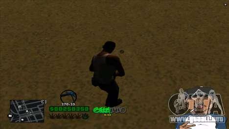 C-HUD By Markus para GTA San Andreas segunda pantalla