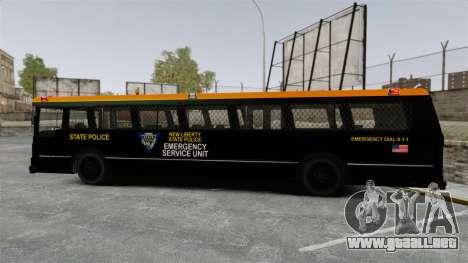 Brute Bus ESU [ELS] para GTA 4 left