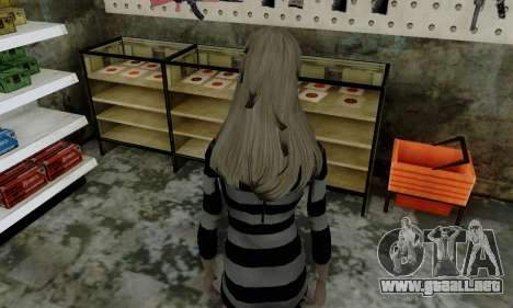 Young Blonde para GTA San Andreas sucesivamente de pantalla