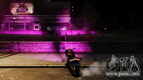 Rosa luz para GTA 4 segundos de pantalla