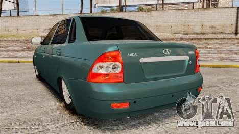 VAZ-2170 para GTA 4 Vista posterior izquierda