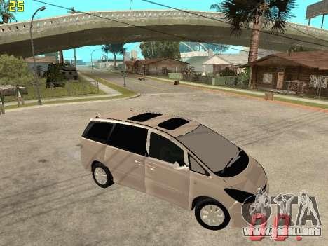 Toyota Estima KZ Edition 4wd para la visión correcta GTA San Andreas