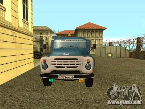 ZIL 130 para GTA San Andreas left