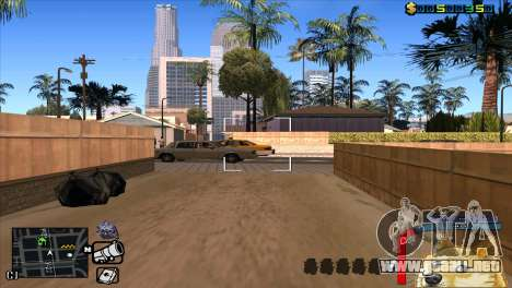 C-HUD Perro WOW para GTA San Andreas quinta pantalla