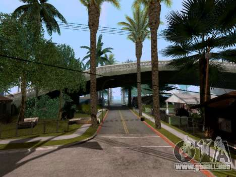 New Grove Street v3.0 para GTA San Andreas segunda pantalla