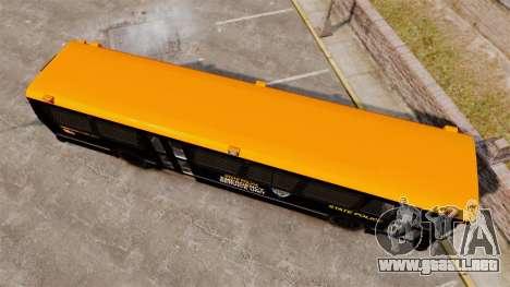 Brute Bus ESU [ELS] para GTA 4 visión correcta
