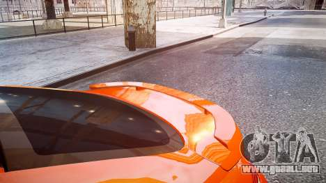 BMW M6 Hamann Widebody v2.0 para GTA 4 vista hacia atrás