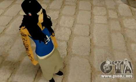 Ophelia v2 para GTA San Andreas tercera pantalla