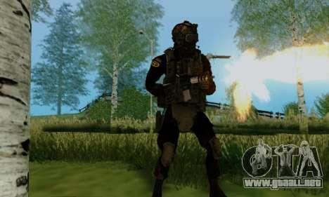 Kopassus Skin 2 para GTA San Andreas quinta pantalla