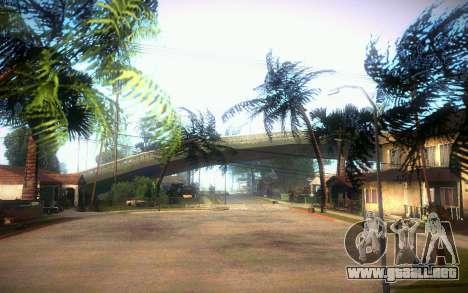 New Grove Street para GTA San Andreas quinta pantalla