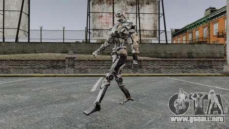 Terminator T-800 para GTA 4 tercera pantalla