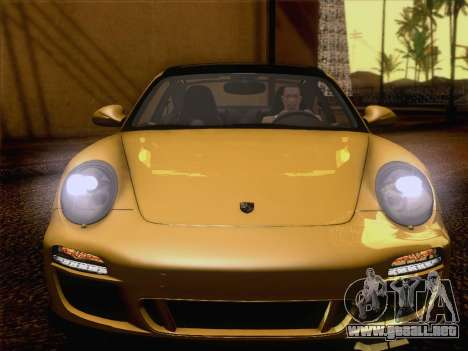 Porsche 911 Targa 4S para visión interna GTA San Andreas