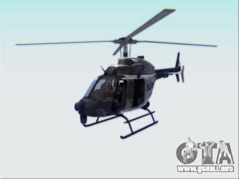 Bell 407 SAPD para GTA San Andreas