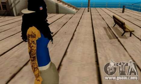 Ophelia v2 para GTA San Andreas quinta pantalla