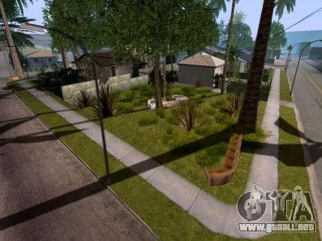 New Grove Street v3.0 para GTA San Andreas sucesivamente de pantalla