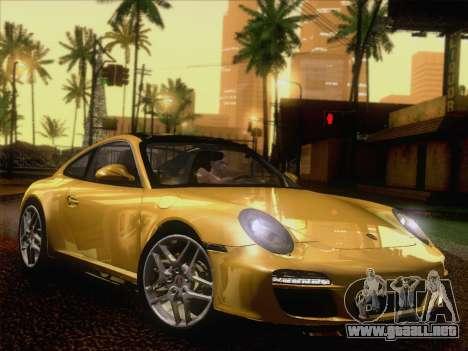 Porsche 911 Targa 4S para GTA San Andreas vista posterior izquierda