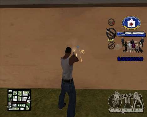 C-HUD C.I.A para GTA San Andreas segunda pantalla
