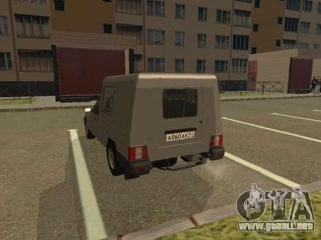 IZH 2717-90 para la visión correcta GTA San Andreas