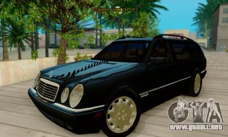 Mercedes-Benz E320 Wagon para GTA San Andreas left