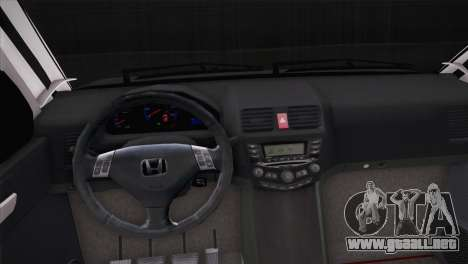 Honda CR-V Hellaflush para GTA San Andreas vista hacia atrás