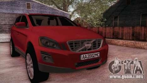 Volvo XC60 2009 para GTA San Andreas