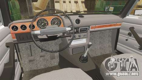 VAZ-2106 Instalado [End] para GTA 4 vista interior
