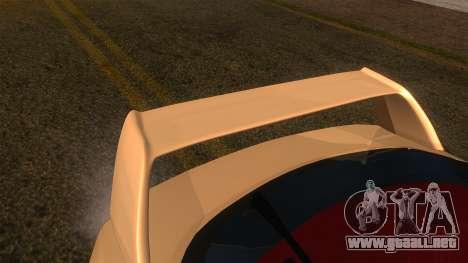 Honda Integra Type R para la visión correcta GTA San Andreas