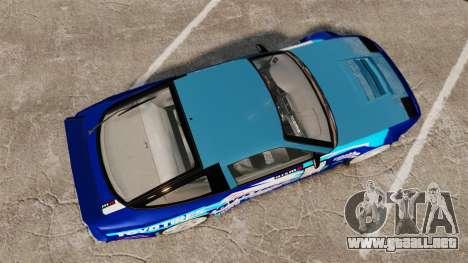 Mazda RX-7 Kawabata Toyo para GTA 4 visión correcta