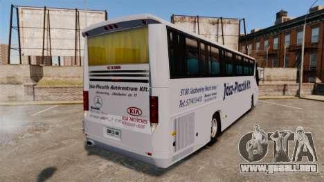 COMIL Campione 3.45 SCANIA K310 para GTA 4 Vista posterior izquierda
