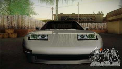 New Euros V1 para GTA San Andreas vista posterior izquierda