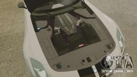 Mercedes-Benz SLS 2014 AMG NFS Stripes para GTA 4 vista interior