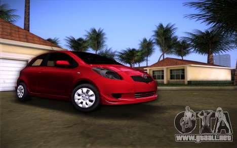 Toyota Yaris para GTA Vice City