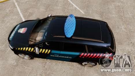 Audi Q7 Hungarian Police [ELS] para GTA 4 visión correcta