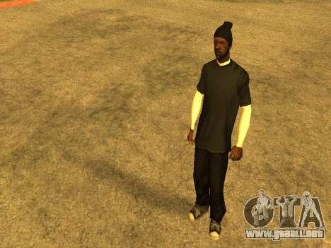 Beta Sweet skin para GTA San Andreas segunda pantalla