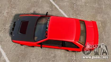 Futo RS para GTA 4 visión correcta