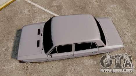 VAZ-2106 Zhiguli BUNKER para GTA 4 visión correcta