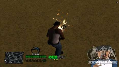C-HUD By Markus para GTA San Andreas tercera pantalla
