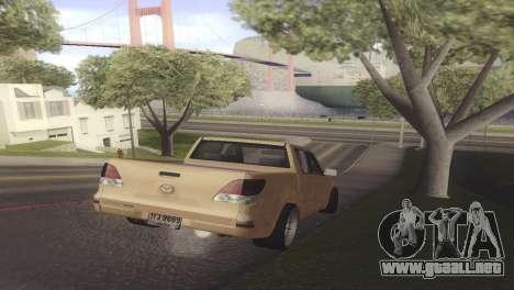 Mazda BT-50 Pro para la visión correcta GTA San Andreas