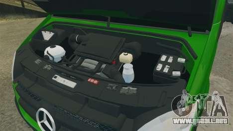 Mercedes-Benz Sprinter 2500 2011 Hungarian Post para GTA 4 vista hacia atrás