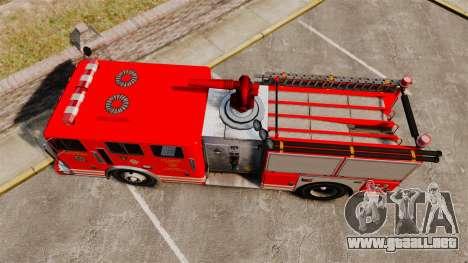 Fire Truck v1.4A LSFD [ELS] para GTA 4 visión correcta