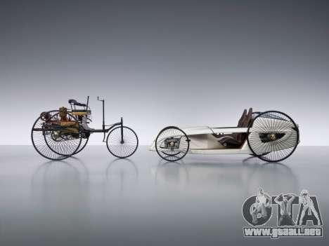 Inicio pantallas de Mercedes-Benz F-CELL Roadste para GTA 4 quinta pantalla