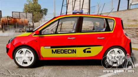 Renault Scenic Medicin v2.0 [ELS] para GTA 4 left