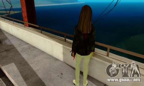 Kim Kameron para GTA San Andreas segunda pantalla