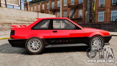 Futo RS para GTA 4 left