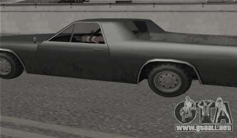 Todas las ruedas en todas las máquinas para GTA San Andreas segunda pantalla