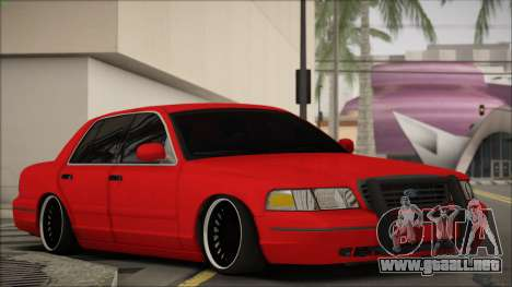 Ford Crown Victoria para GTA San Andreas left