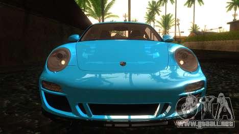 Porsche 911 Carrera GTS 2011 para vista lateral GTA San Andreas