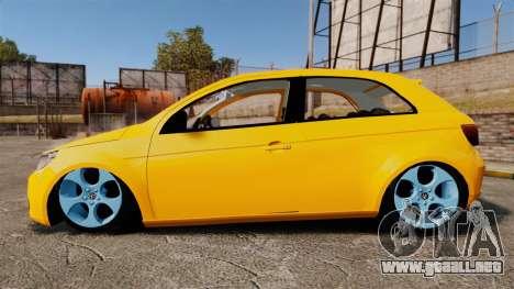 Volkswagen Gol G5 3 Puertas para GTA 4 left