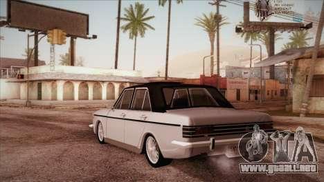 Peykan 48 Blackroof para GTA San Andreas vista posterior izquierda