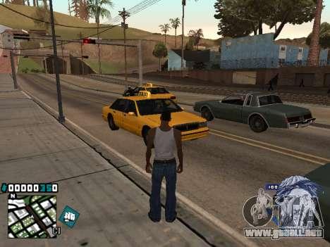C-HUD Rifa in Ghetto para GTA San Andreas